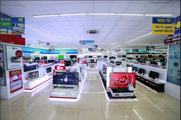 Hệ thống siêu thị điện máy